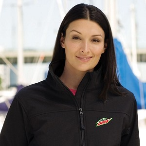 Ladies' Soft Shell Jacket - MTN Dew