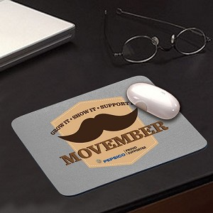 Movember Mousepad