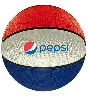 Official Size Basketball - Pepsi