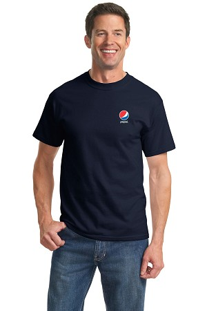 The Essential T-Shirt - Pepsi (Navy)