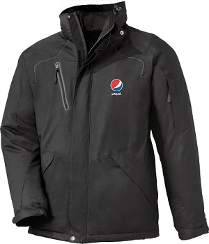 Men's Sherpa Fleece Lined Seam-Sealed Jacket - Pepsi