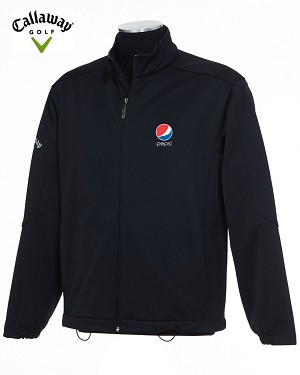 Callaway Tour Bonded Soft  Shell Jacket - Pepsi
