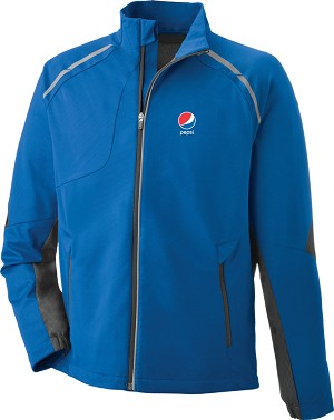 Dynamo Men's Hybrid Performance Soft Shell Jacket - Pepsi