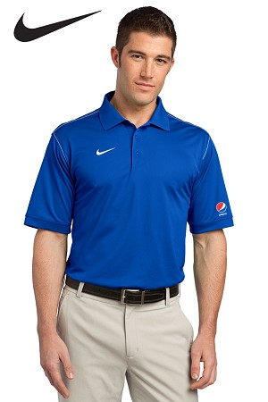 Men's Nike Golf Dri-FIT Sport Swoosh Pique Polo - Pepsi