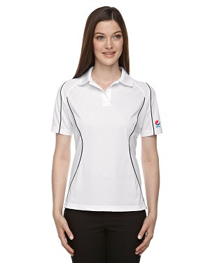 Ladies' Snag Protection Colour-Block Polo With Piping - Pepsi