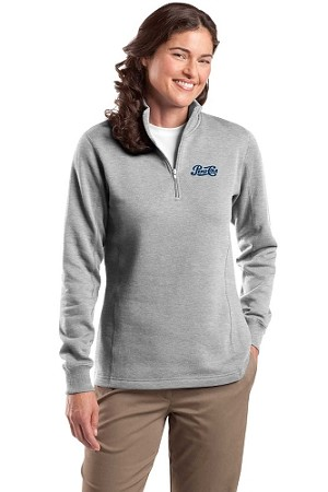 Ladies' 1/4-Zip Sweatshirt - Pepsi-Cola