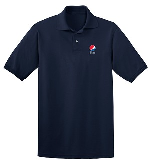 Comfort Zone Sport Shirt - Navy - Diet Pepsi
